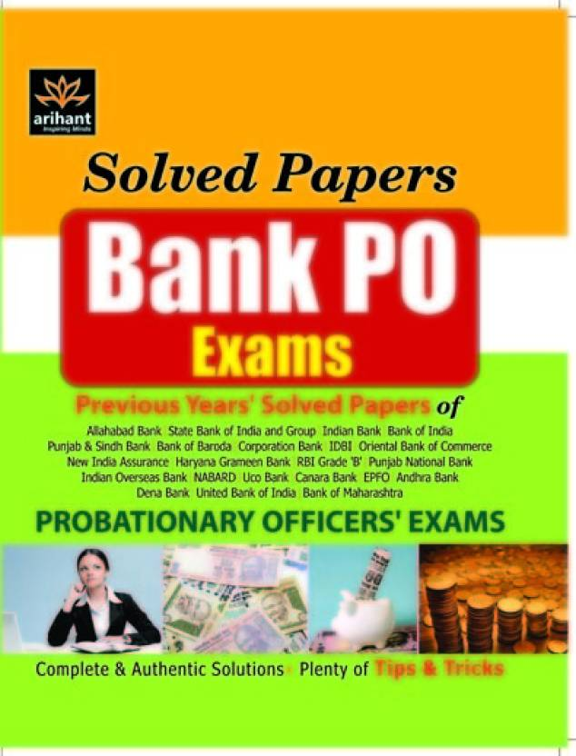 Bank PO Exam Previous Years' Solved Papers