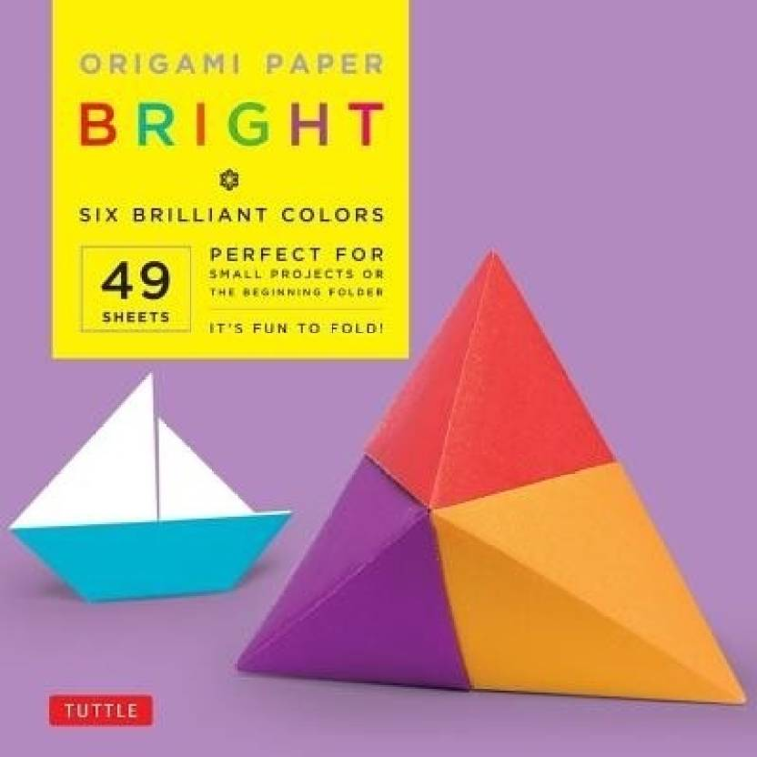 "Origami Paper Bright 6"" 49 Sheets"