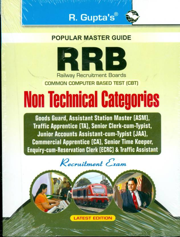 Rrb: Jr Clerk-Cum-Typist, Ticket Examiner, Ticket Collector, Clerk Etc. Exam Guide