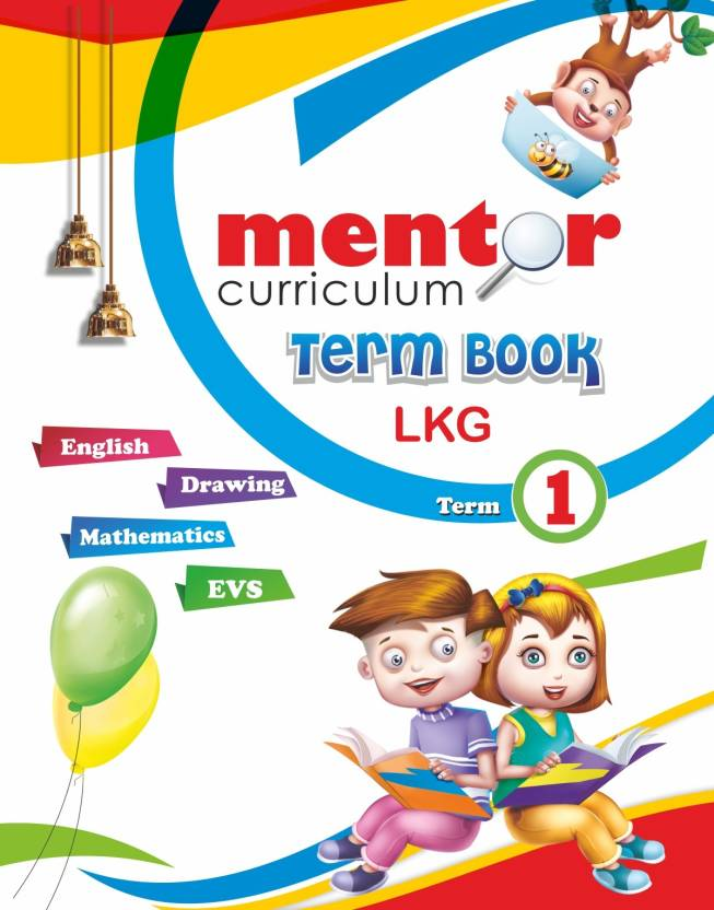 Mentor universal curriculam Term book LKG Term - 1 Eng / Maths ...