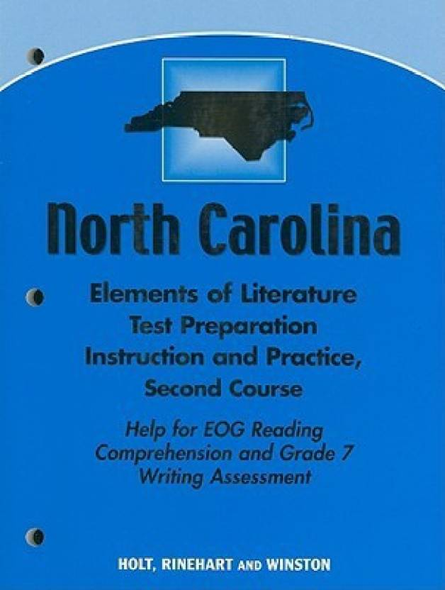 North Carolina Elements of Literature Test Preparation