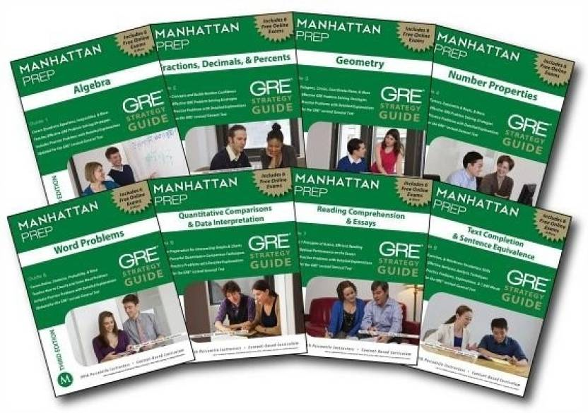 Manhattan Prep GRE Strategy Guides 3rd Edition