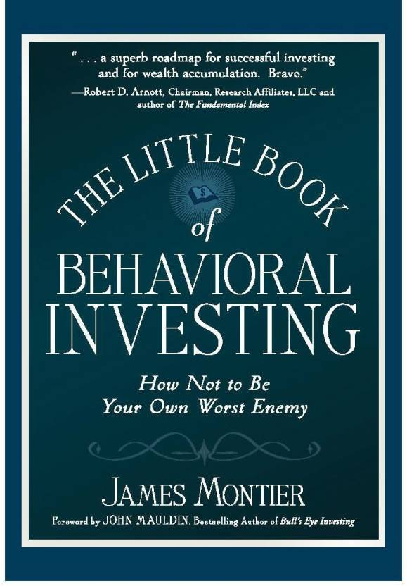 the little book of behavioral investing montier james