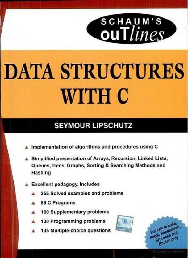 data structures with c 1st edition buy data structures with c 1st