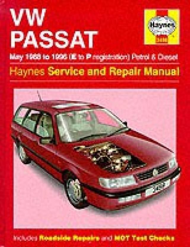 VW Passat Petrol and Diesel (May 1988-96) Service and Repair