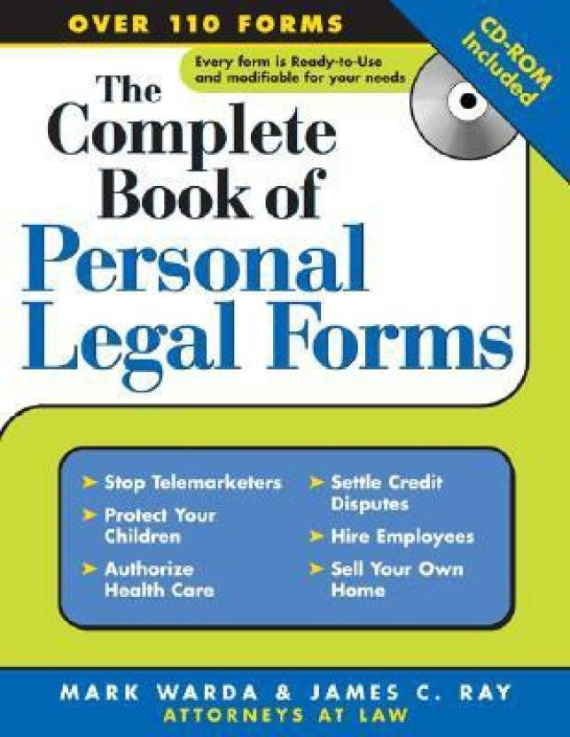 Complete Book Of Personal Legal Forms CDROM Series Complete - Where to buy legal forms