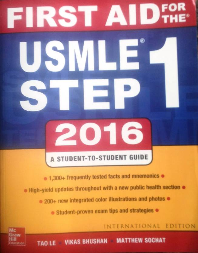 First Aid for the USMLE Step 1: Buy First Aid for the USMLE Step 1