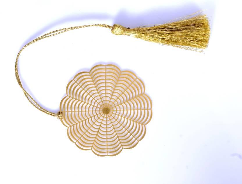 tepara round flower metal bookmark price in india buy tepara round