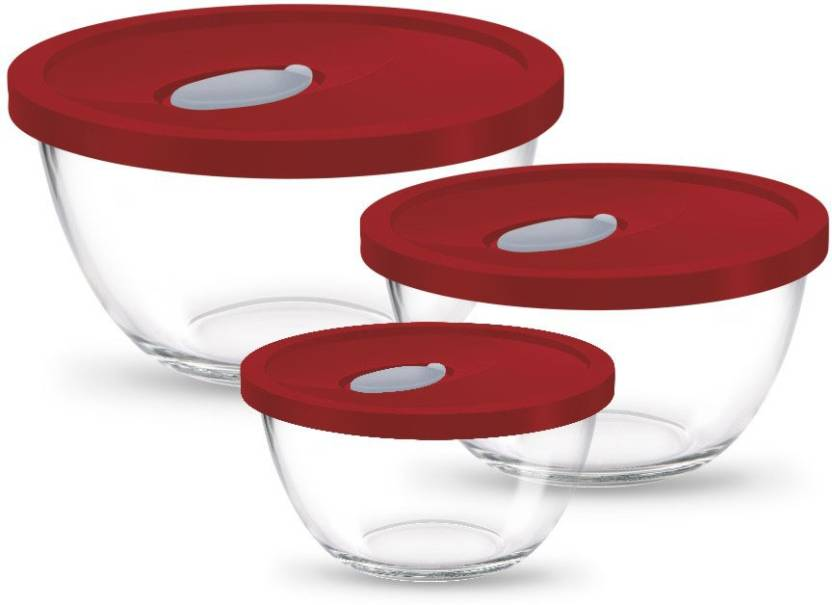 Cool Treo Mixing Bowl Set With Lid Glass Bowl Set Price In India Onthecornerstone Fun Painted Chair Ideas Images Onthecornerstoneorg