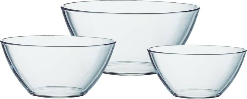 Arcoroc Glass Bowl Set