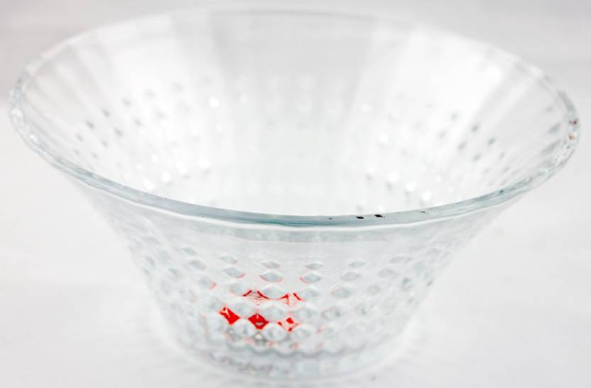 f4f4c927ef53 Hiluxe Diamond Round Glass Bowl Price in India - Buy Hiluxe Diamond ...