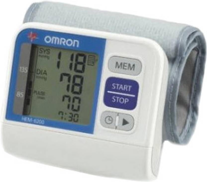 Omron HEM 6200 Wrist Bp Monitor