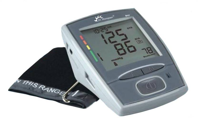 Dr. Morepen BP-07 One Fully Automatic Upper Arm Bp Monitor