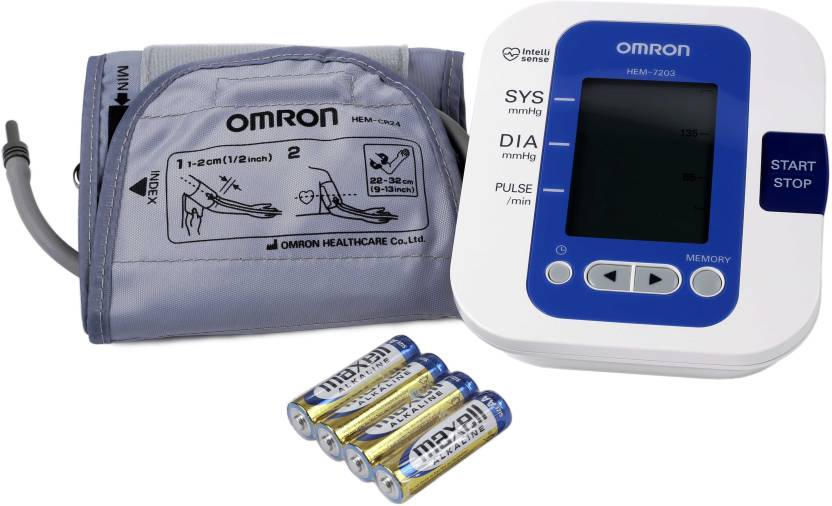 Omron HEM 7203 Upper Arm Bp Monitor