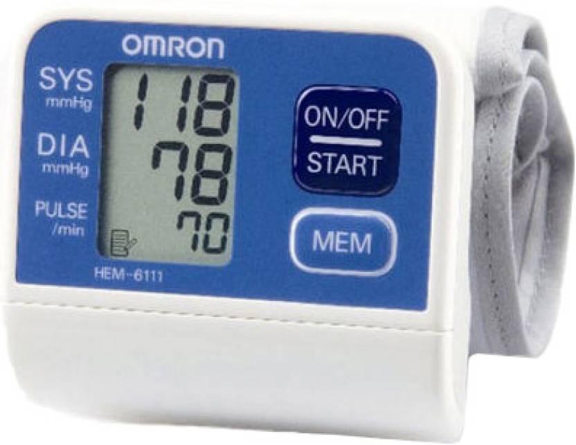 Omron HEM 6111 Wrist Bp Monitor