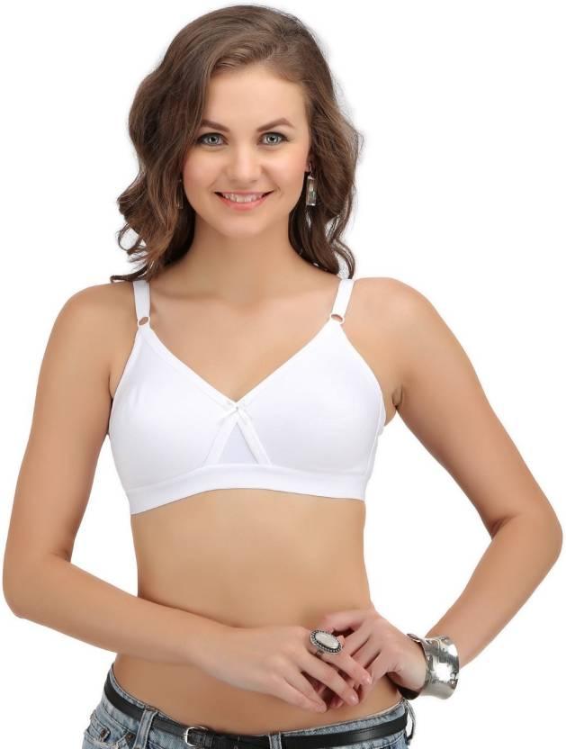 4ef1dce354 Sona by SONA Women's Minimizer Non Padded Bra - Buy White Sona by ...