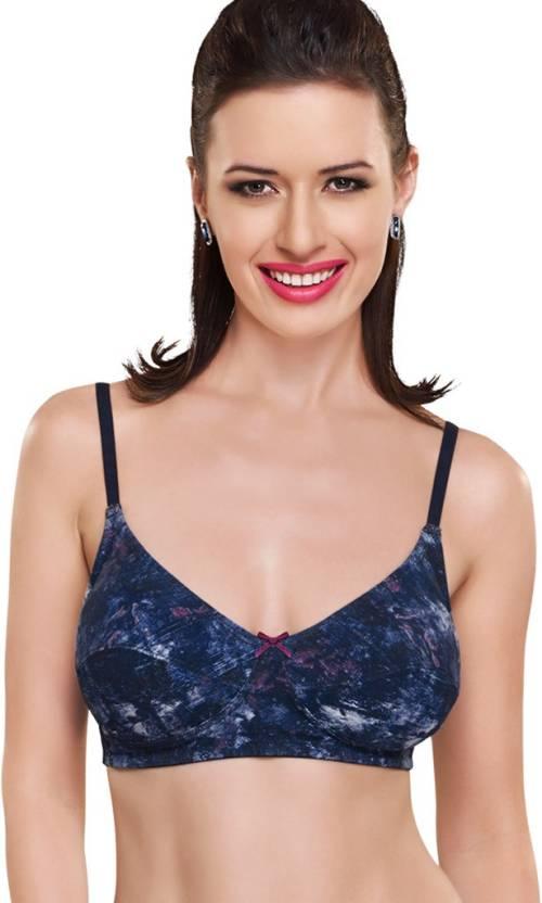 b7bd93dab02 Inner Sense Women s Full Coverage Bra - Buy Blue Inner Sense Women s ...