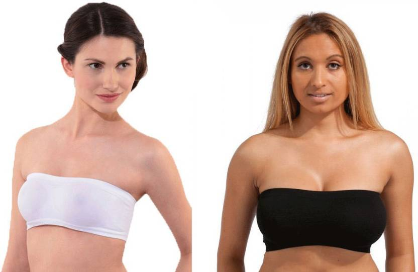 087ae2ac70a80 Secret World Women s Tube Bra - Buy White