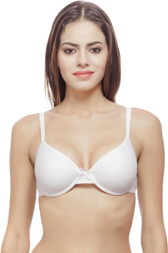 04806d53b7df0 Bwitch Women's Push-up Bra - Buy White Bwitch Women's Push-up Bra ...