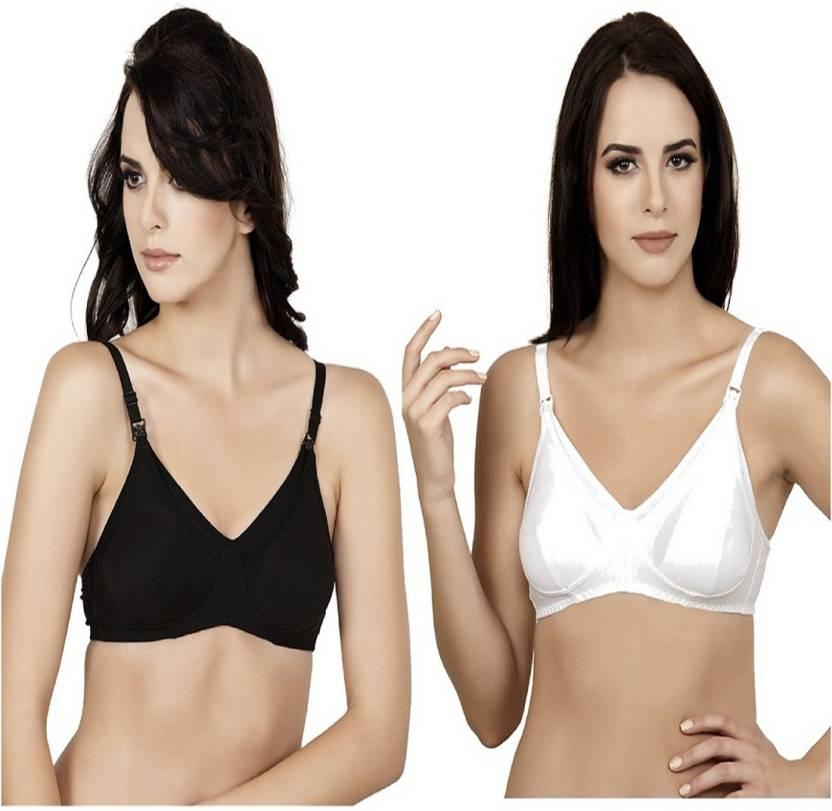 d720579b1 Alies Lingerie Women s Bralette Non Padded Bra - Buy Black