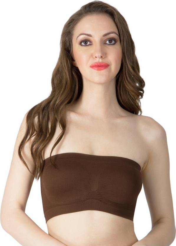 c7ca0202d443d Smexy Women s Tube Bra - Buy Brown Smexy Women s Tube Bra Online at ...