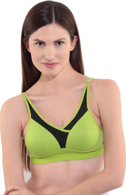 1cd4b0519e6db Floret Women s Push-up Lightly Padded Bra - Buy Lime Green Floret ...