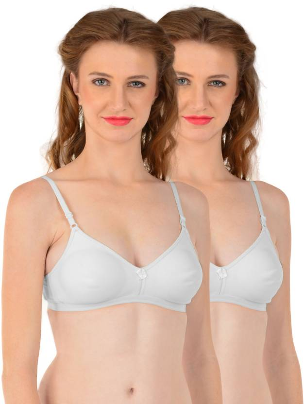 e8438d9e89e Eve s Beauty by Eve s Beauty Women s T-Shirt Lightly Padded Bra (White)
