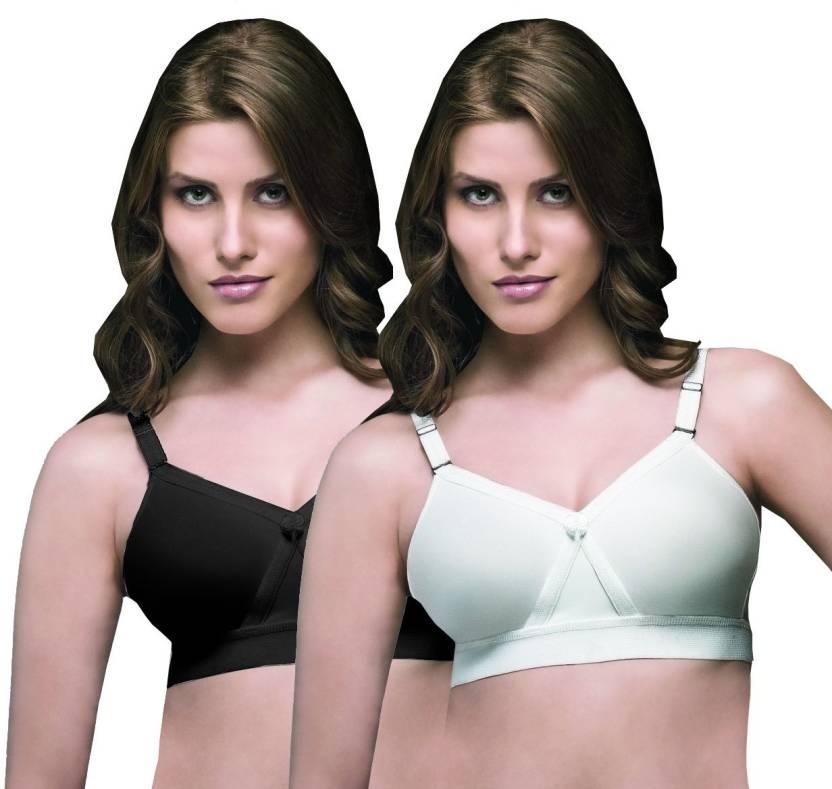 ac49a45e5ab35 Trylo Women s Full Coverage Bra - Buy Black