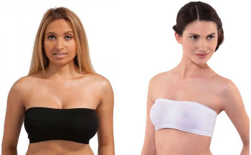 8aad40e98b866 Secret World Women s Tube Bra - Buy Black