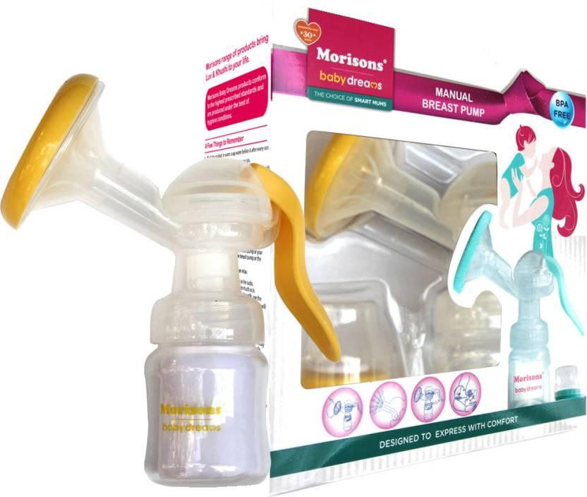 Morisons Baby Dreams Manual Breast Pump (Yellow)