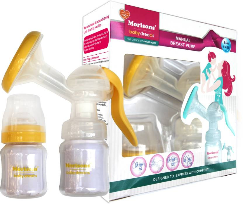 Baby Dreams Breast Pump  - Manual (Yellow)