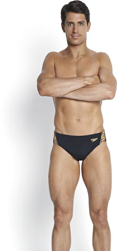 Solid Speedo Male Brief Swimsuit Endurance