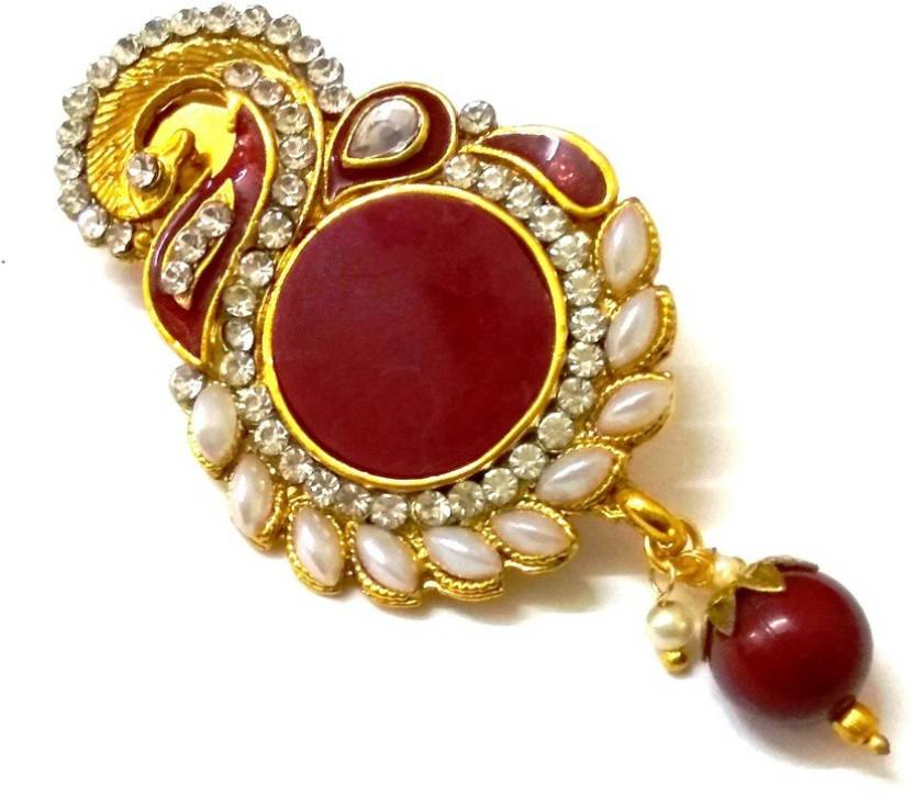 4f5d3144a Lalso Saree Pin Brooch Juda Brooch Price in India - Buy Lalso Saree ...