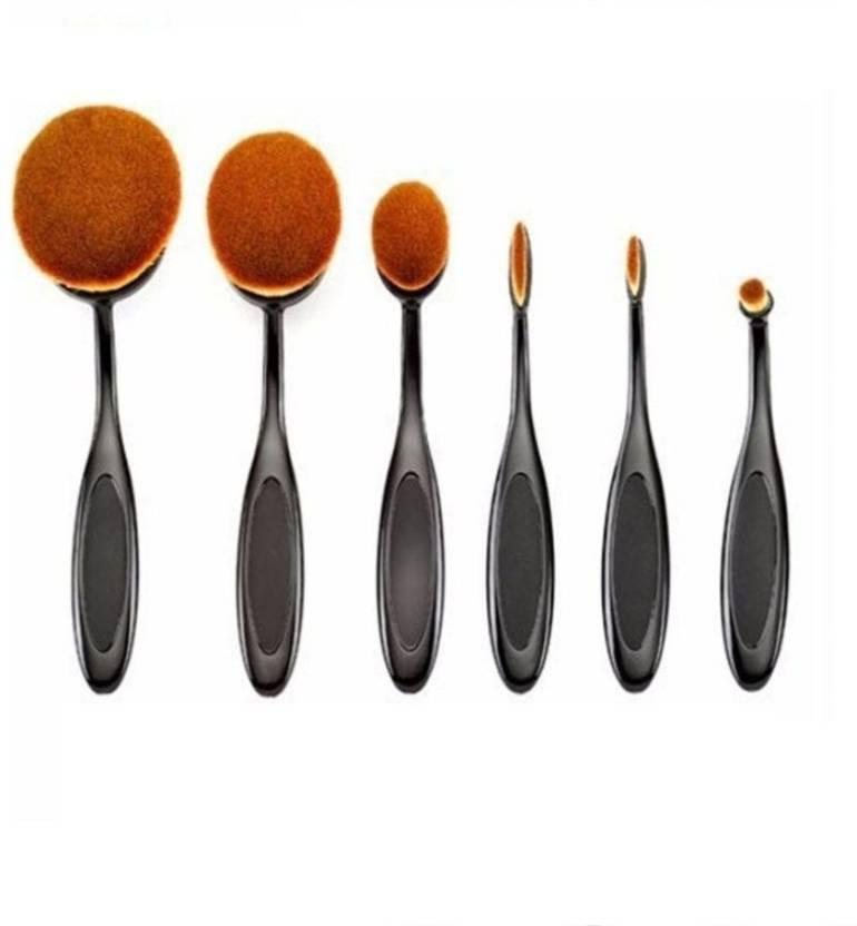 M.A.C Professional brush set (Pack of 6)