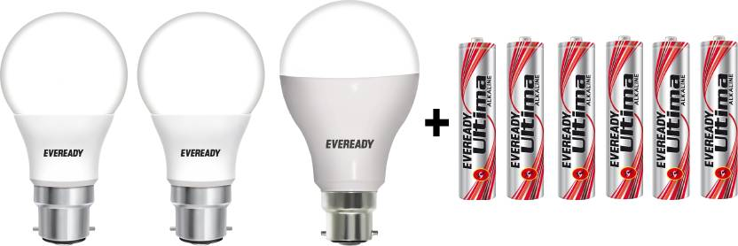 Eveready 7 W, 9 W, 14 W B22 LED Bulb
