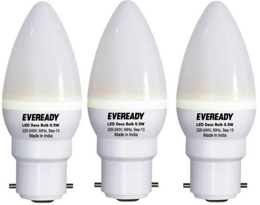 Eveready 0.5 W B22 LED Bulb