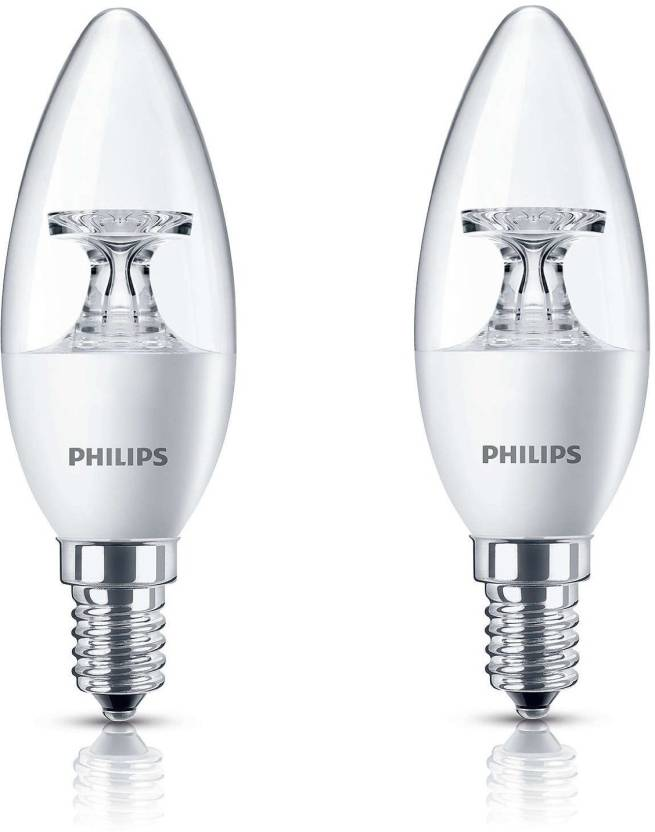 Philips 3.5 W Candle E14 LED Bulb Price in India - Buy Philips 3.5 W ...