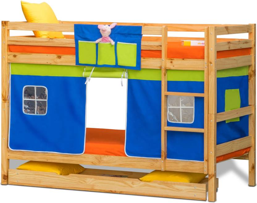 Alex Daisy Oslo Solid Wood Bunk Bed Price In India Buy Alex Daisy
