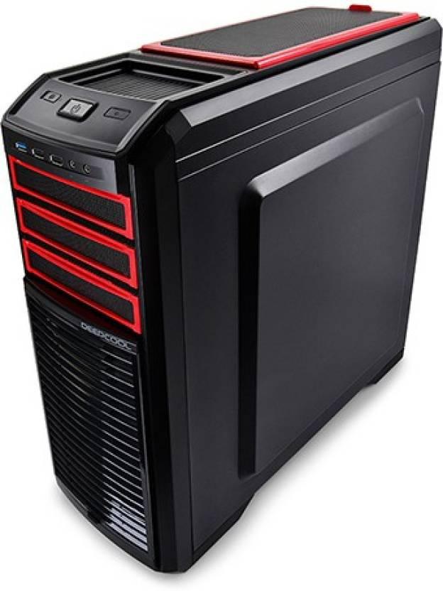 Deepcool Kendomen Red Mid Tower Cabinet
