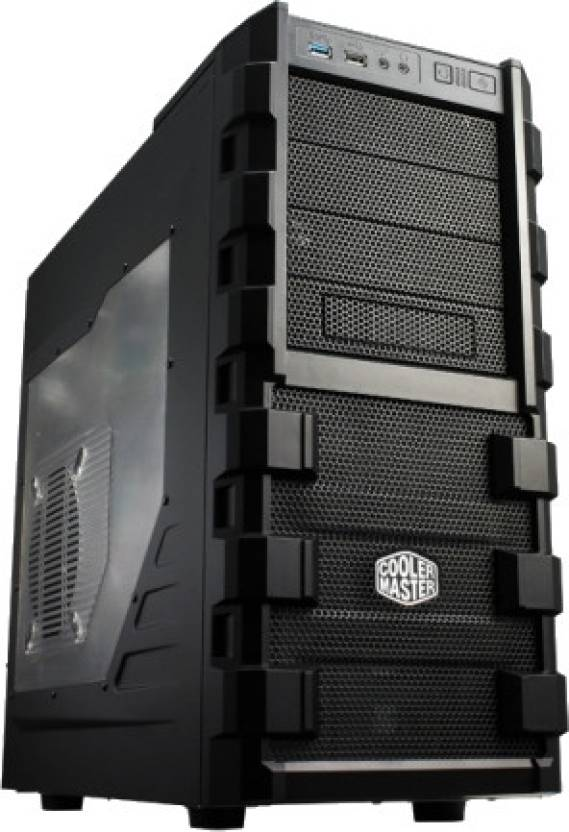 Cooler Master HAF 912 Combat Transparent Side Panel Mid Tower Cabinet
