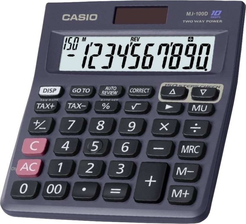 flipkart com casio mj 100d mj 100da basic calculator basic rh flipkart com Printing Calculator Manual Printing Calculator Manual