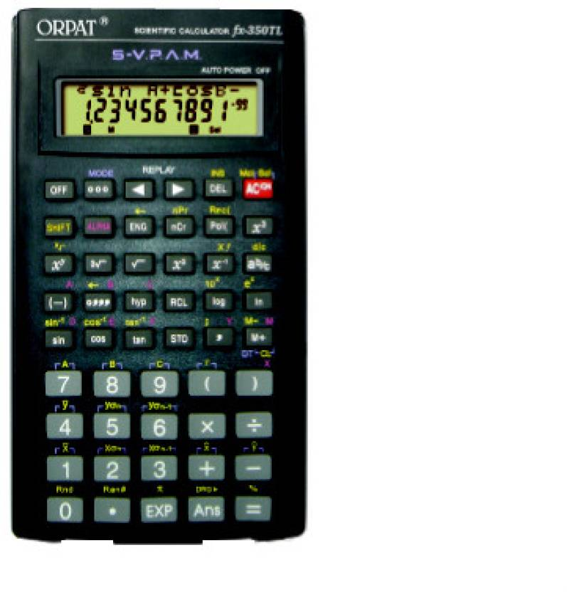 Orpat FX - 350TL Scientific  Calculator