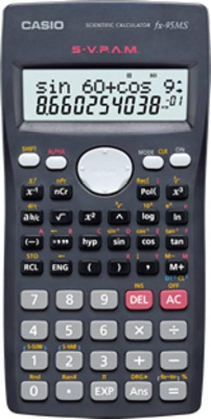 Uc san diego bookstore casio fx-115 ms scientific calculator.