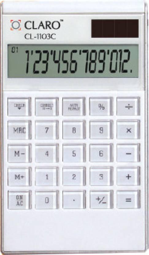 Claro CL - 1103C Basic  Calculator