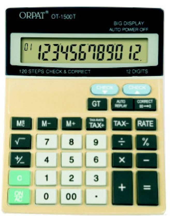 Orpat OT1500T Basic  Calculator