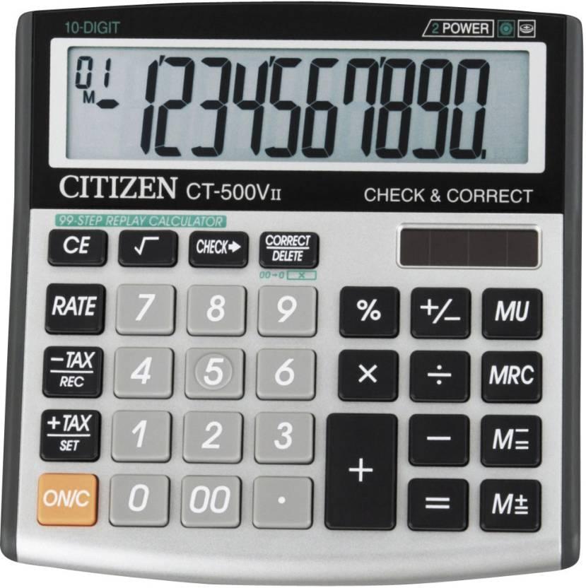 Citizen CT-500 VII Basic  Calculator