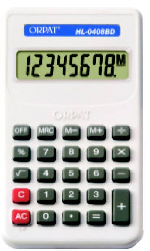 Orpat HL0408BD Basic  Calculator