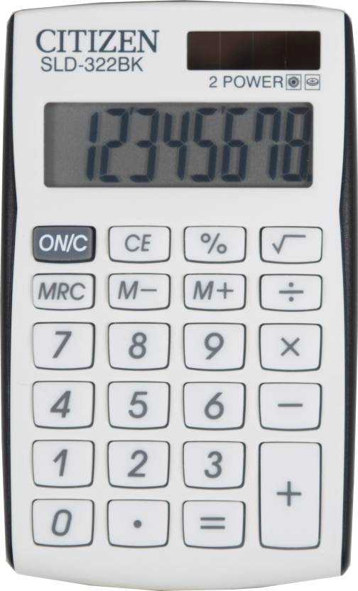 Citizen SLD-322 BK Basic  Calculator