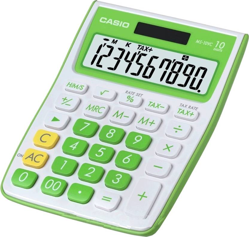 Casio MS-10VC-GN Basic  Calculator