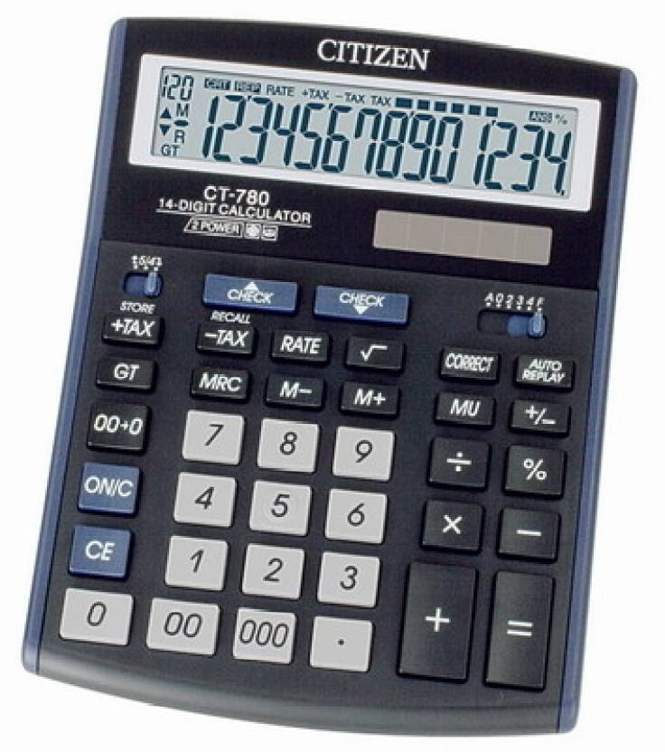 Citizen CT-780 Basic  Calculator